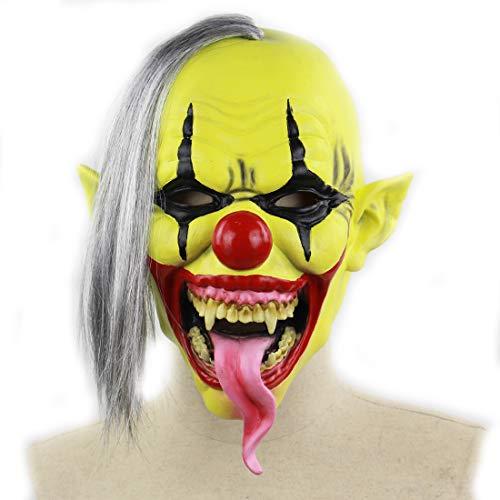 DUBAOBAO Halloween Masker, Halloween Body Parts Props, Horror Clown Masker Halloween Kerst Buitenlandse Handel Amazon Latex Masker