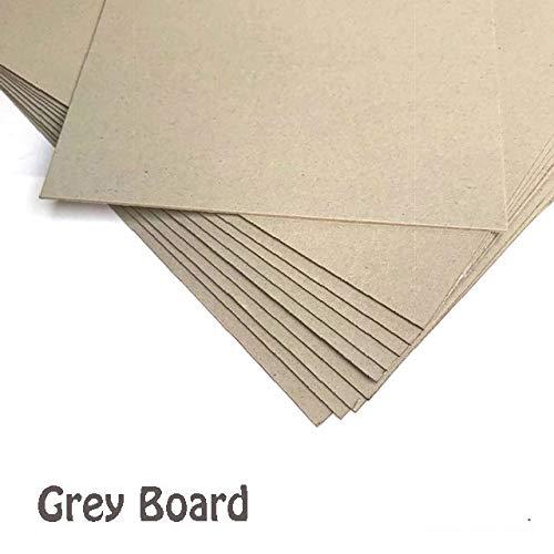 House of Card & Paper, cartoncino kraft, 1500 micron, 945 g/mq, formato A3, 10 fogli per confezione