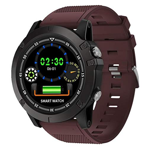 Smart Watch, Las Últimas Relojes Deportivos A Prueba De Agua De SW002 Y Mujeres, Podómetro Deportivo Al Aire Libre, Pulsera De Monitoreo De iOS De Android,C