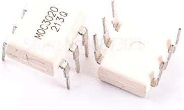10PCS MOC3020 3020 DIP6 Triac & SCR Output Optocouplers 6Pin 400V Optocoupl Rand Phs Triac Drvr New Original
