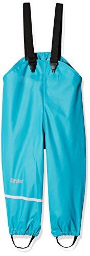 CareTec Pantalones Impermeable Unisex Niños, Azul (Turkis 968), 98