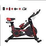 QuRRong Cyclette Verticali Ellittica Trainer Cyclette Perdita di Peso Macchina for Esercizi Volano Anteriore Montato Aumentare la stabilità Home Fitness Ciclismo