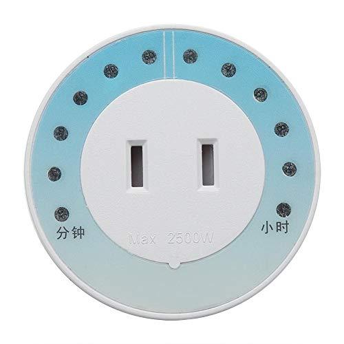 GXMZL Stekkerdoos, timer voor mobiele telefoon, iPad, huishoudelijke oplader voor elektrische apparaten, Amerikaanse stekkers, 110 V-220 V