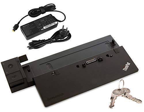 Perfect Case von MaryCom Lenovo ThinkPad Pro Dock für ThinkPad T440 T450 T460 T470 T550 T560 T570 X240 X250 X260 X270 W540 W541 W550s P50s P51s   MIT SCHLÜSSEL   MIT NETZTEIL   (Generalüberholt)