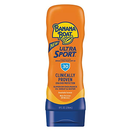 Banana Boat Sport Performance Lotion Sunscreens with PowerStay Technology SPF 30, 8 Ounces by Banana Boat
