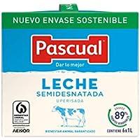 Leche Pascual Clasica Leche Semidesnatada - Paquete de 6 x 1 l - Total: 6 l
