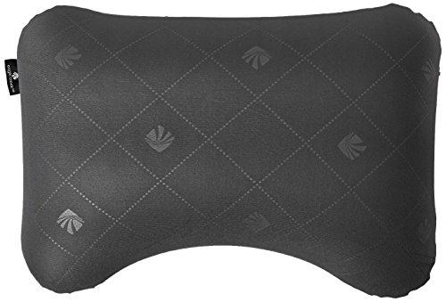 Eagle Creek Exhale Ergo Pillow Almohada de Viaje, 39 cm, 0.200 litros, Ebony