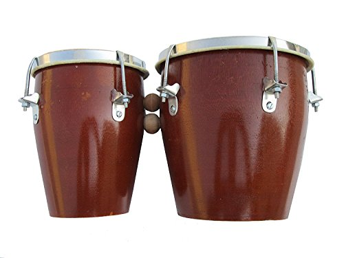 Alligator Wooden Bongo Set With cover