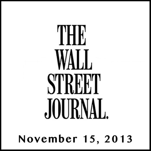 The Morning Read from The Wall Street Journal, November 15, 2013 copertina