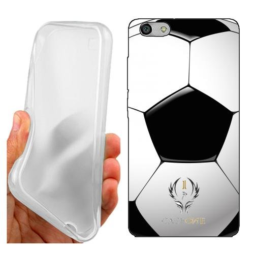 Custodia Cover Case Pallone Calcio per Huawei G Play Mini