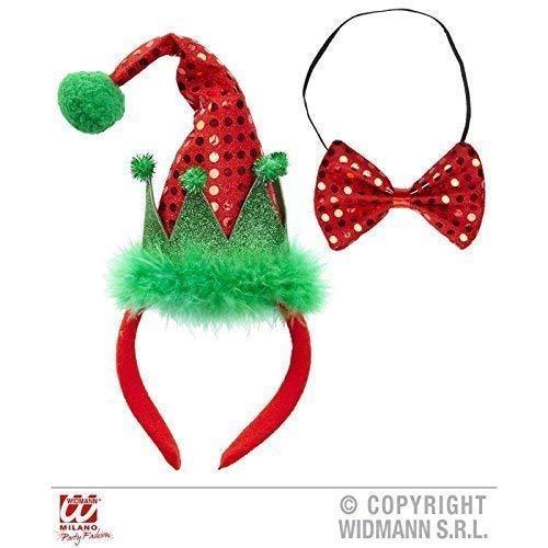 Lively Moments Mini Cappello Elfo / Weihnacht undici in Capelli maturi con Corrispondenza Papillon