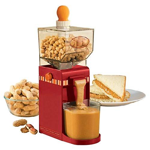 Molinillo de cocina eléctrico doméstico de 220 V para mantequilla de maní, con base antideslizante y orificios de ventilación para polvo de molienda de café, maíz, maní y anacardo, 500 ml / 17,6 oz