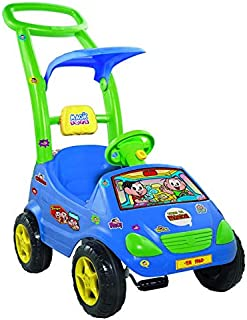Roller Baby Cebolinha Magic Toys Azul/Verde