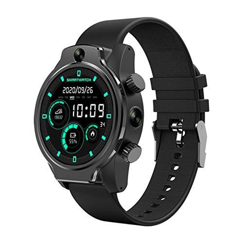 4G LTE Network Smart Watch, GPS Móviles 3GB 32GB Reconocimiento Facial MP2 Cámara WiFi WiFi Smart Watch IP68 Reloj Deportivo A Prueba De Agua Reloj Android,A
