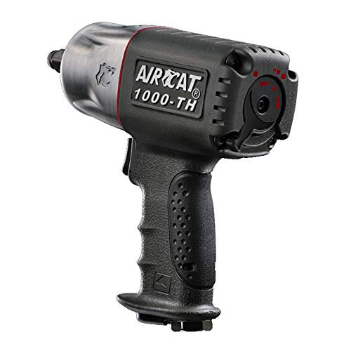 AIRCAT 1000-TH 1/2-Inch Composite Air Impact Wrench With Twin Hammer Mechanism -