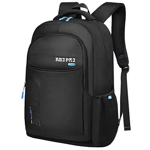 VBIGER School Bags School Backpack for Boys Teenage Girls Waterproof Black 15.6' Laptop Backpack Travel Backpack