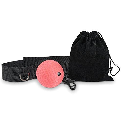 LionFit Fight Ball Reflex (Rot)