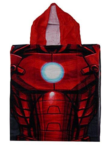 Official Marvel Iron Man Double Poncho à capuche