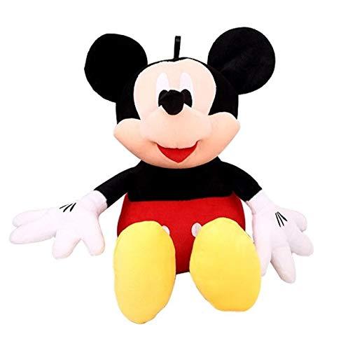 Knuffel, Mooie Mickey Mouse En Minnie Mouse Leuke Gevulde Zachte Knuffels Hoge Kwaliteit Cadeaus Kinder Babypop Voor Kinderen 28cm zwart