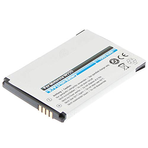 cellePhone Akku Li-Ion kompatibel mit Motorola W156 W180 W205 W208 W218 W220 W230 W375 W377 W510 - KRZR K3 - SLVR L9 (Ersatz für BQ50)