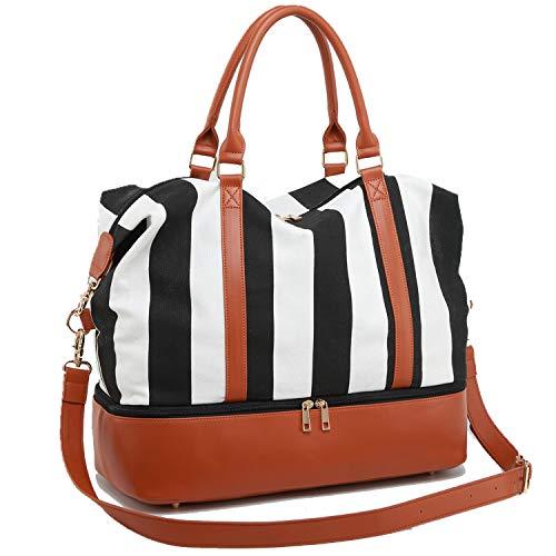 Camtop Damen-Reisetasche / Übernachtungstasche, aus Segeltuch für unterwegs