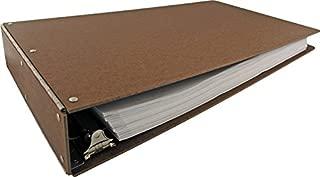 11x17 Hardboard Aluminum Hinge Binder, 2