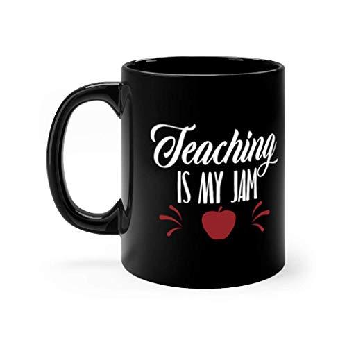 N\A Taza de Combustible para Maestros Taza para futuros Maestros El Mejor Maestro Que Haya enseñado Amor Inspire La enseñanza es mi Mermelada