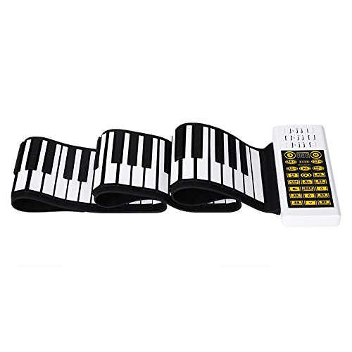 Hokaime 61/88 Teclas Hand Roll Up Piano eléctrico