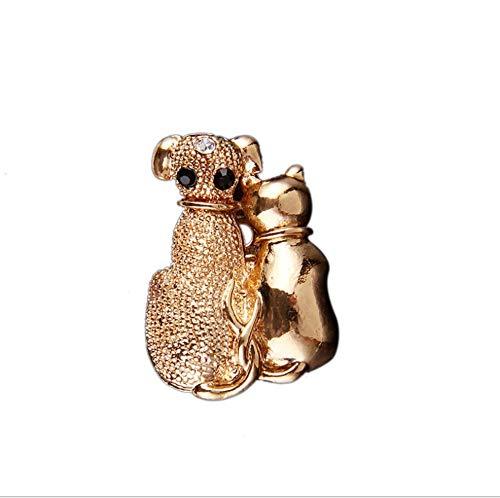 Preisvergleich Produktbild shunlidas Wohnaccessoires Dekoartikel Dekoneuer Diamant-Pin Aus Brosche-Kragennadel