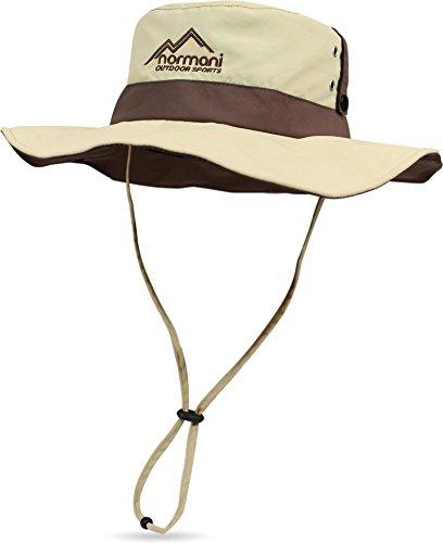normani Outdoor Shady Sonnenhut mit UV Schutz 40 + Farbe Khaki Größe M