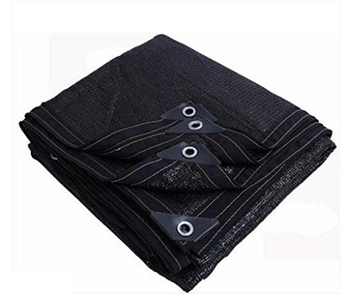 Filet d'ombrage, Sun Mesh Shade cryptage épaississement UV résistant net polyéthylène filet d'isolation thermique extérieure, diverses tailles voile de voile parasol (Couleur : A, taille : 4 * 7m)