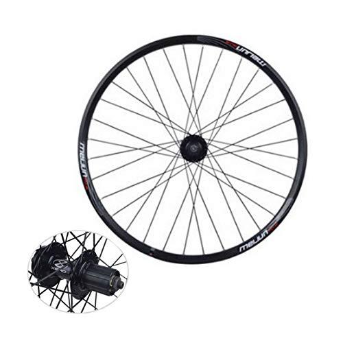 CHICTI 26 Pulgadas Rueda Trasera,32 Hoyos Aleación de Aluminio Freno de Disco Pared Doble 7/8/9/10 Velocidad Bicicleta de Montaña Una Sola Rueda Deportes