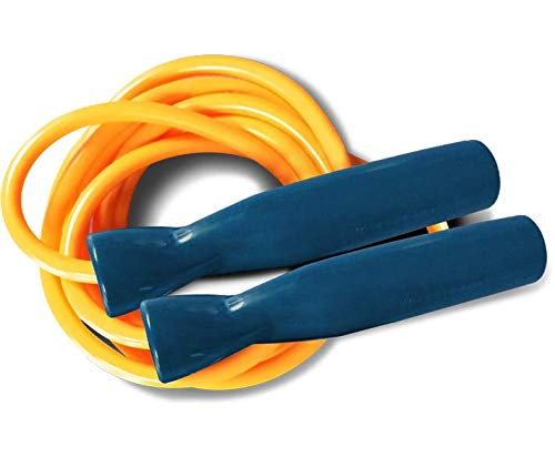 Excellerator Corde Professionnelle Tubing - Comba para fitness, color (- Gelb), talla 285 cm (sup a170 cm)
