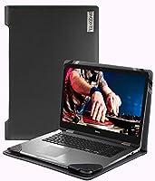 Broonel-プロファイルシリーズ-デルXPS 13 2-in-1ラップトップと互換性のあるラップトップケースブラックレザー