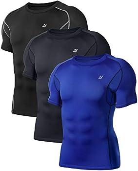 3-Pack Roadbox Men's Compression Shirt