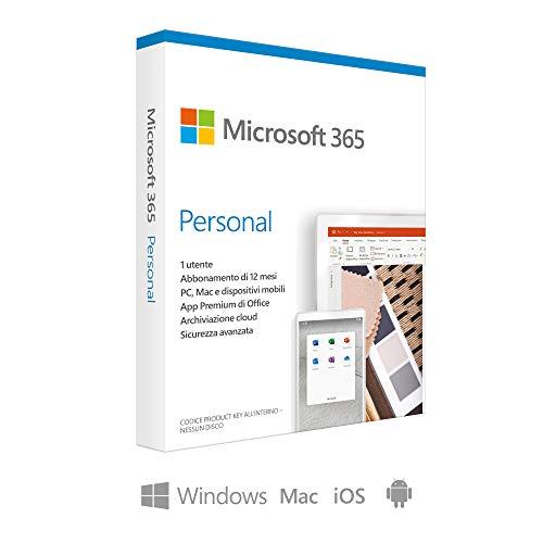 Microsoft 365 Personal Codice d attivazione via posta