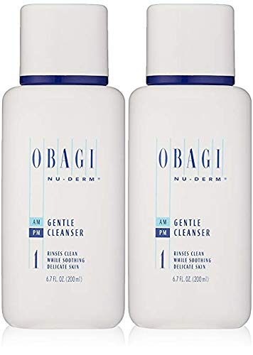 Obagi Nu-Derm Gentle Cleanser, 6.7 Fl Oz Pack of 2