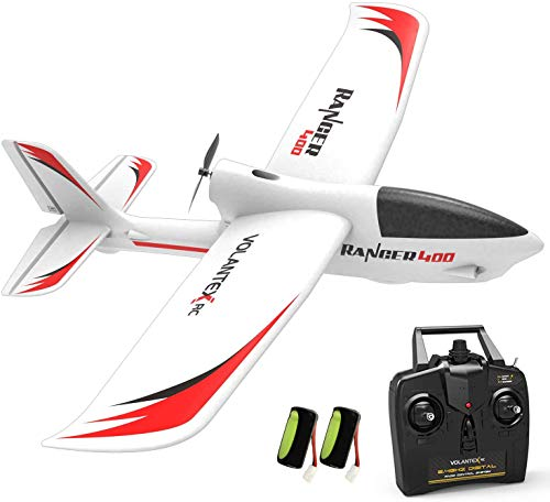 VOLANTEXRC Remote Control Airplane Ranger 400 2.4GHz Parkeflyer RC Aircraft Ready to Fly with Xpilot Stabilization System Easy to Fly for Beginners (761-6 RTF)