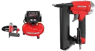 CRAFTSMAN Crown Stapler, 18GA, Narrow with Air Compressor Combo Kit, 1 Tool (CMPNC18K & CMEC1KIT18)