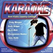 Karaoke: Boot Kickin Country Cowboys by Various Artists