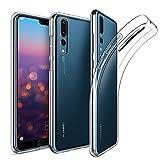 Amonke Hülle Durchsichtige Für Huawei P20 Pro, Silikon Transparent Handyhülle für Huawei P20 Pro, Ultra Dünn TPU Schutzhülle Huawei P 20 Pro