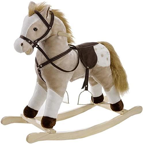 Heunec 725072 - Cavallino a Dondolo Classico con Effetti sonori
