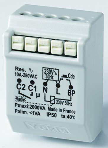télérupteur - 10a - radio - power - yokis mtr2000erp