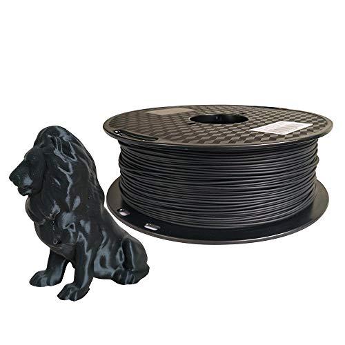 CC3D PLA Max (PLA+) Black PLA Filament 1.75 mm 3D Printer Filament 1KG 2.2LBS 3D Printing Material Strength Than Normal PLA Pro Plus Filament Black Color
