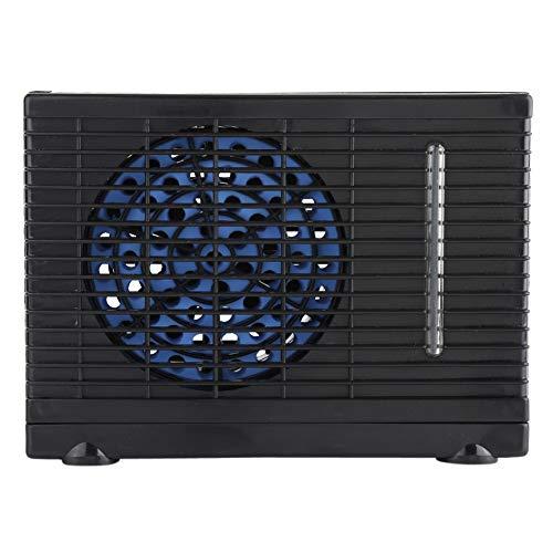 iFCOW - Ventilador de aire acondicionado, portátil de 12 V, para coche, camión, hogar, mini ventilador de refrigeración por agua evaporativa