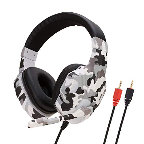 Celiy Bluetooth Headset Gaming Headset 3.5Mm Over-Ear Stereo Gaming Headphone Microphone for N-Switch Headsets