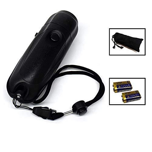 Silbato electrónico Mini electrónico del silbido del árbitro del juego silbato for la supervivencia que va de excursión bolsa de almacenamiento de la batería para Árbitros Entrenadores P.E. Profesorad