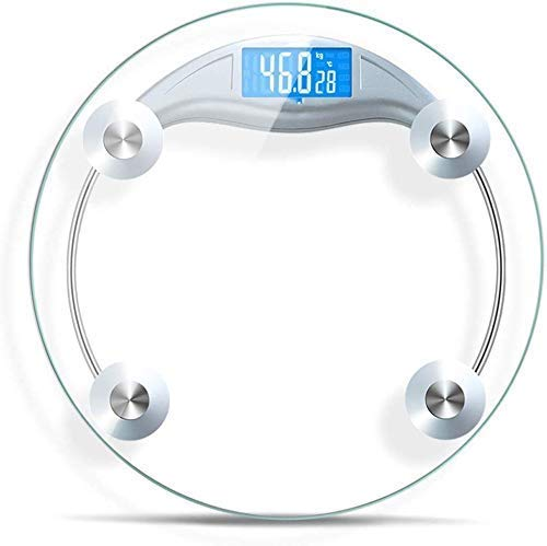 Báscula electrónica Libra Báscula doméstica Báscula de baño pequeña Mujer adulta Equilibrio electrónico preciso Carga de medición de peso
