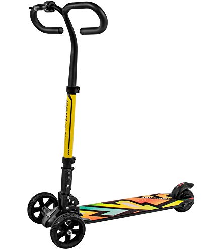 Swagtron SG-6 Cali Drift Three-Wheel Electric Scooter...