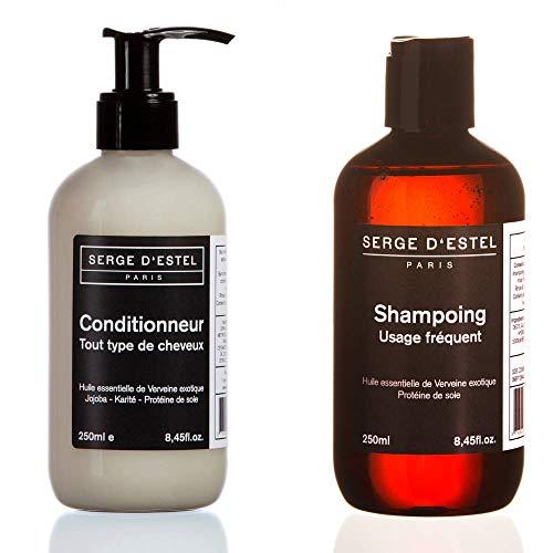 Shampooing Cheveux Normaux 250ml Apres Shampooing Tous Types de Cheveux 250ml. Soin Complet Quotidien Cheveux Normaux. Soin Lissant Soin Restructurant Soin Volume Brillance Hydratation.